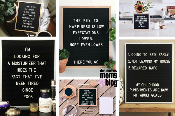 favorite letter boards adulthood
