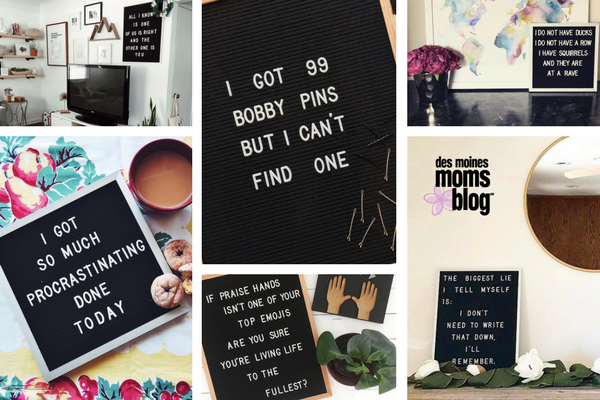 favorite letter boards funny
