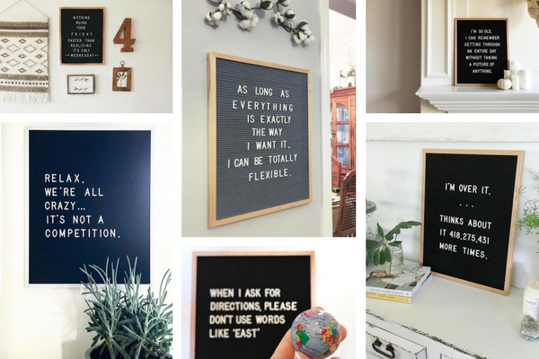 favorite letter boards humor