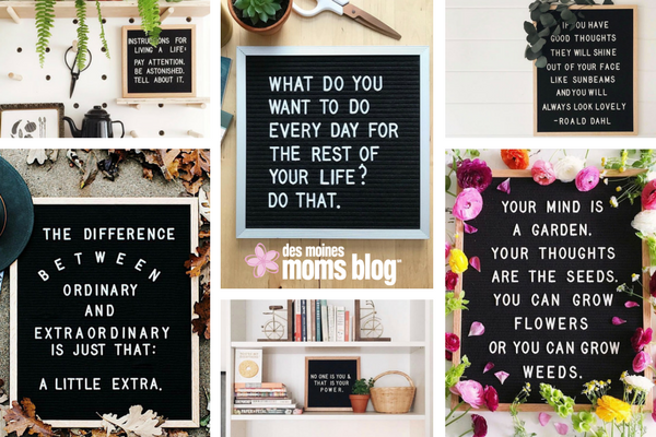 favorite letter boards inspiration