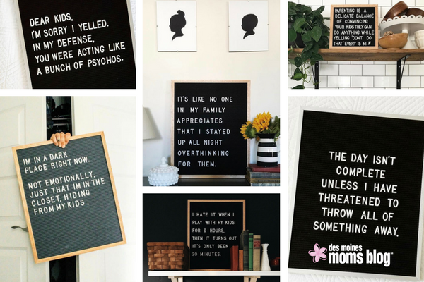 favorite letter boards parenting
