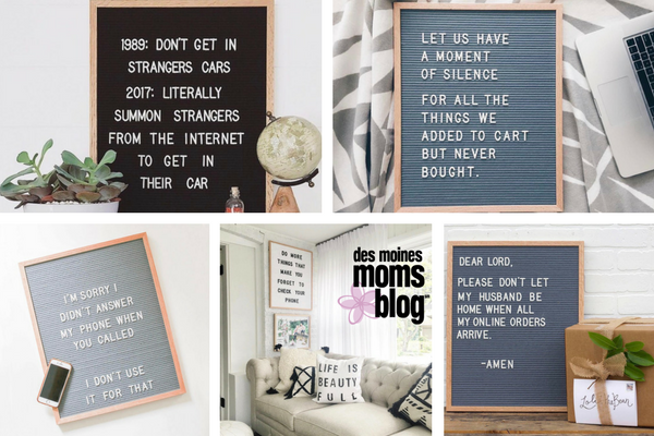 favorite letter boards