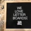 letter boards we love