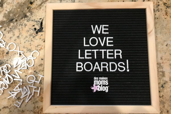 letter boards we love