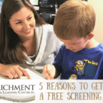 5 Reasons You Should Get a Free Educational Screening