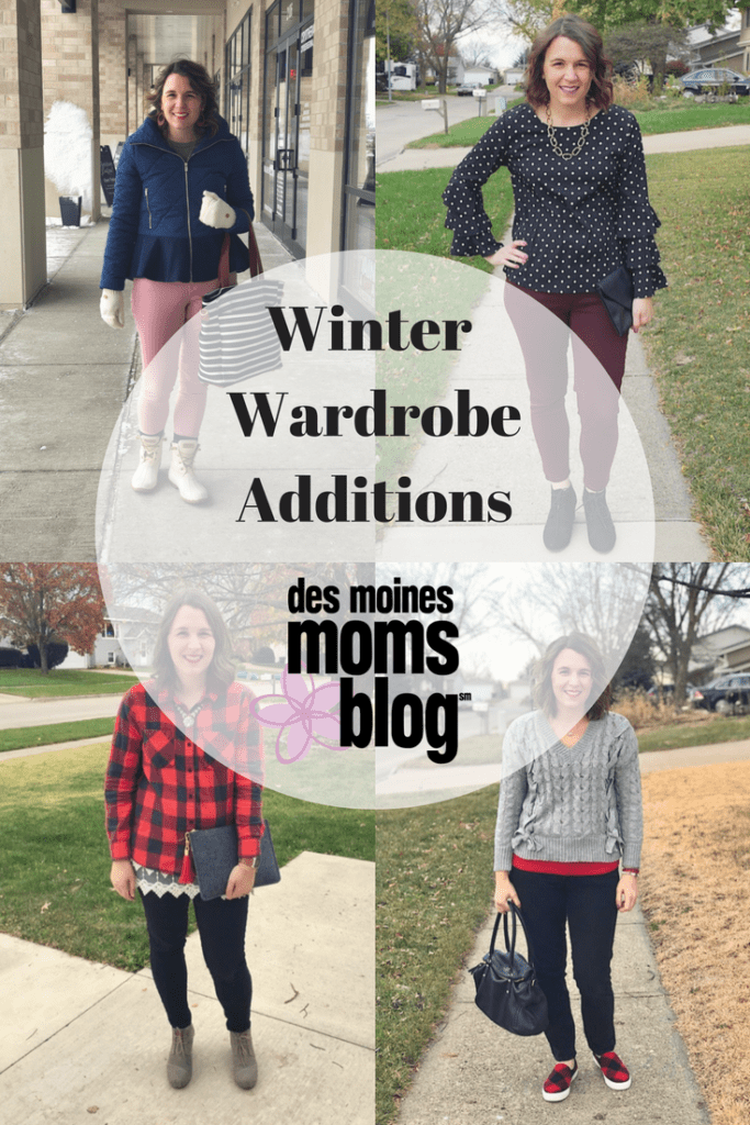 winter wardrobe additions mom style