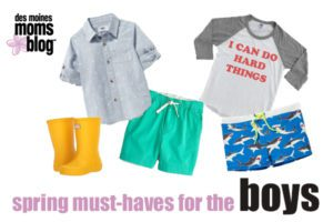 Boys spring fashion Des Moines moms Blog