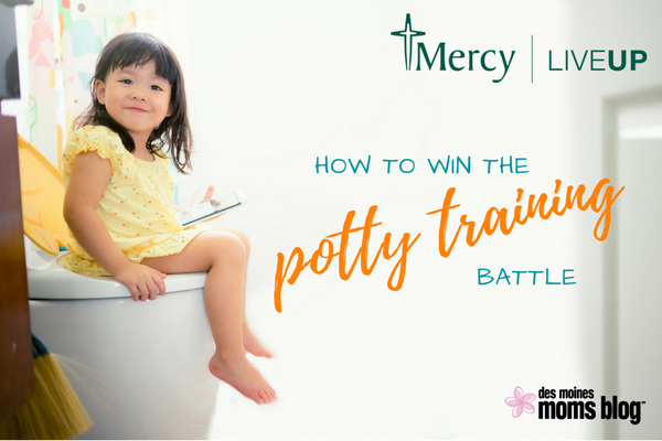 potty training toddler tips Mercy Des Moines
