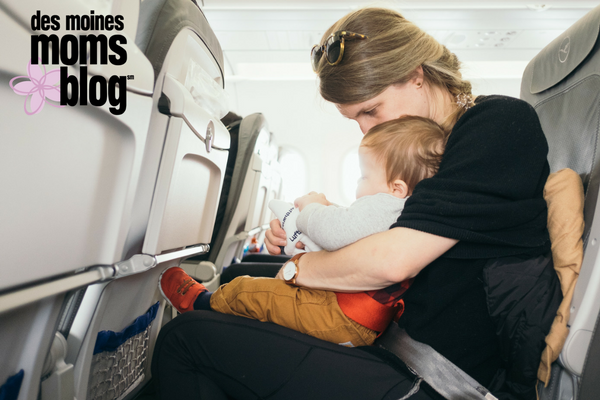 Tips for flying with kids. What to pack