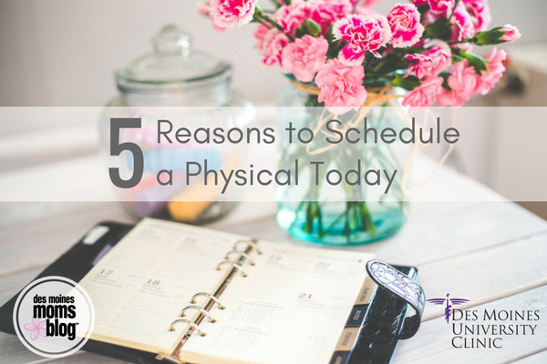 schedule a physical