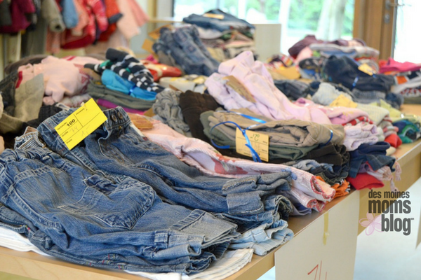 Des Moines Spring Consignment sales