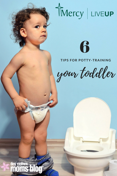 six tips for potty training toddlers