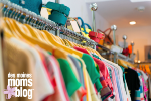 Consignment tips des moines moms blog