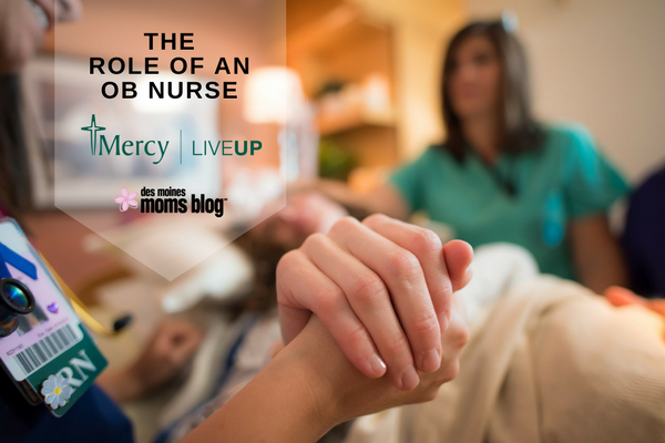 OB nurse labor and delivery Mercy Des Moines