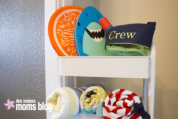 summer organizing ideas and storage solutions