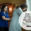 Doula on delivery team