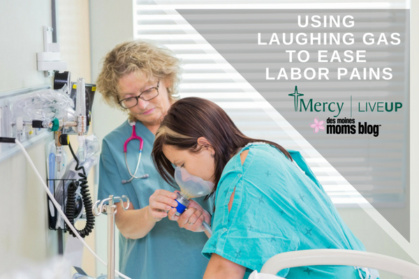using laughing gas during labor and delivery
