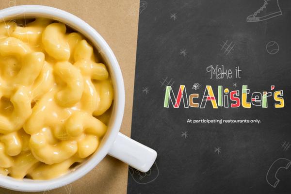 McAlister's Deli kid's meals