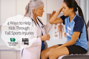 4 Ways to Help Kids Through Fall Sports Injuries
