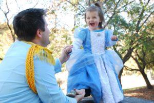 DIY Halloween Costume ideas Cinderella and Prince