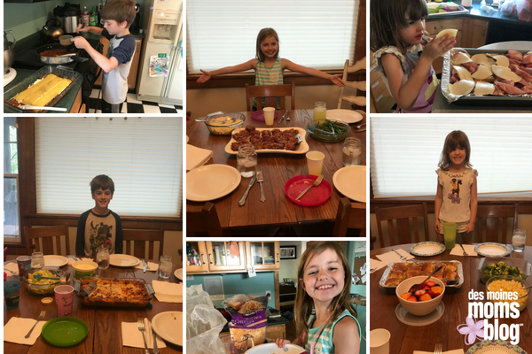 kids cooking: kids in the kitchen