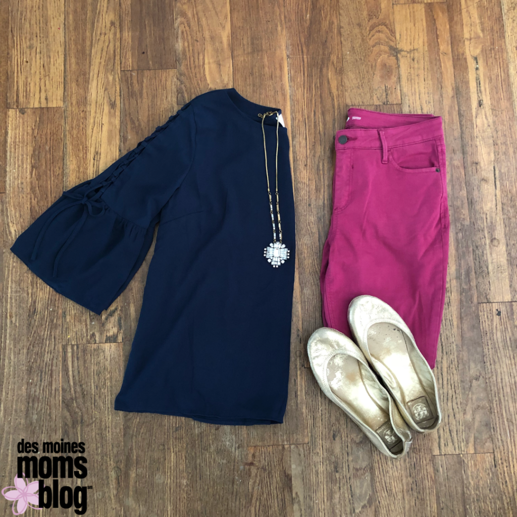 Colored Jeans fall fashion tips