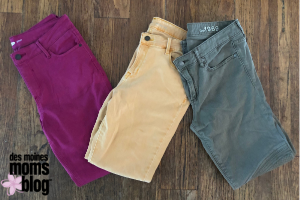 colored jeans for fall fashion