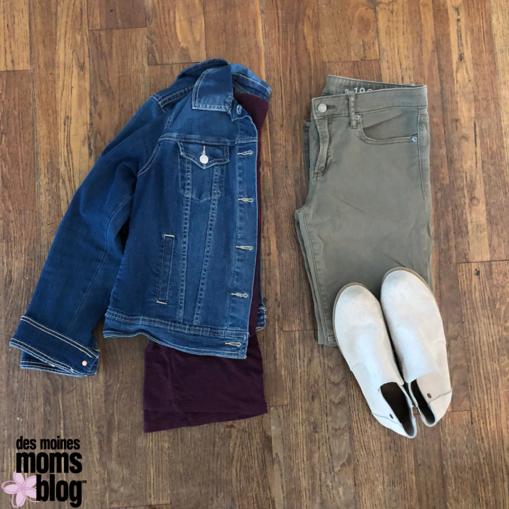 fall fashion tips for colored jeans