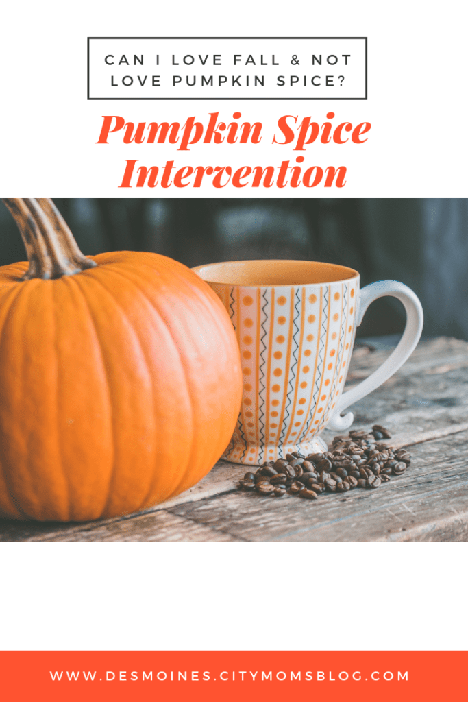 pumpkin spice intervention