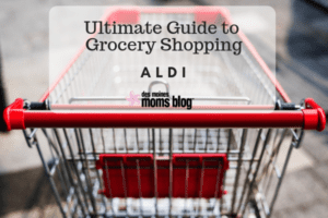 Aldi grocery shopping des moines