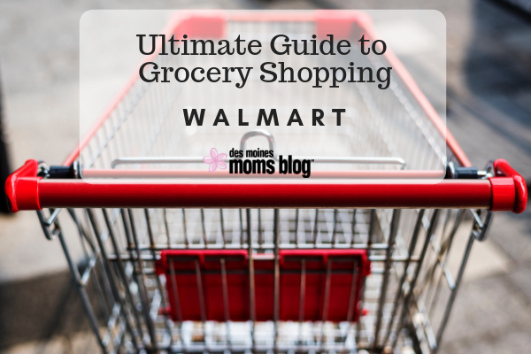 Walmart grocery shopping des moines