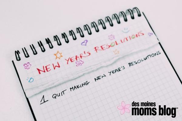 New Year's Resolution microresolutions