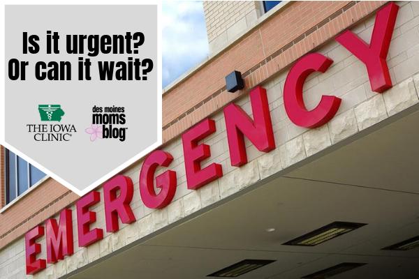 urgent care in Des Moines Iowa Clinic