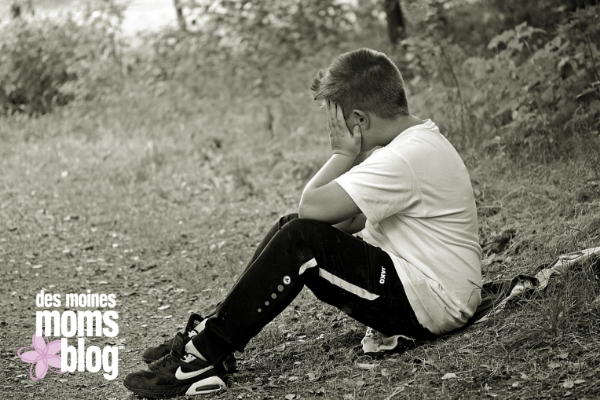 bully boy alone outdoors