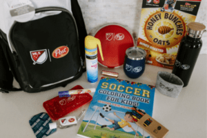Soccer Mom Survival kit from Post Cereals