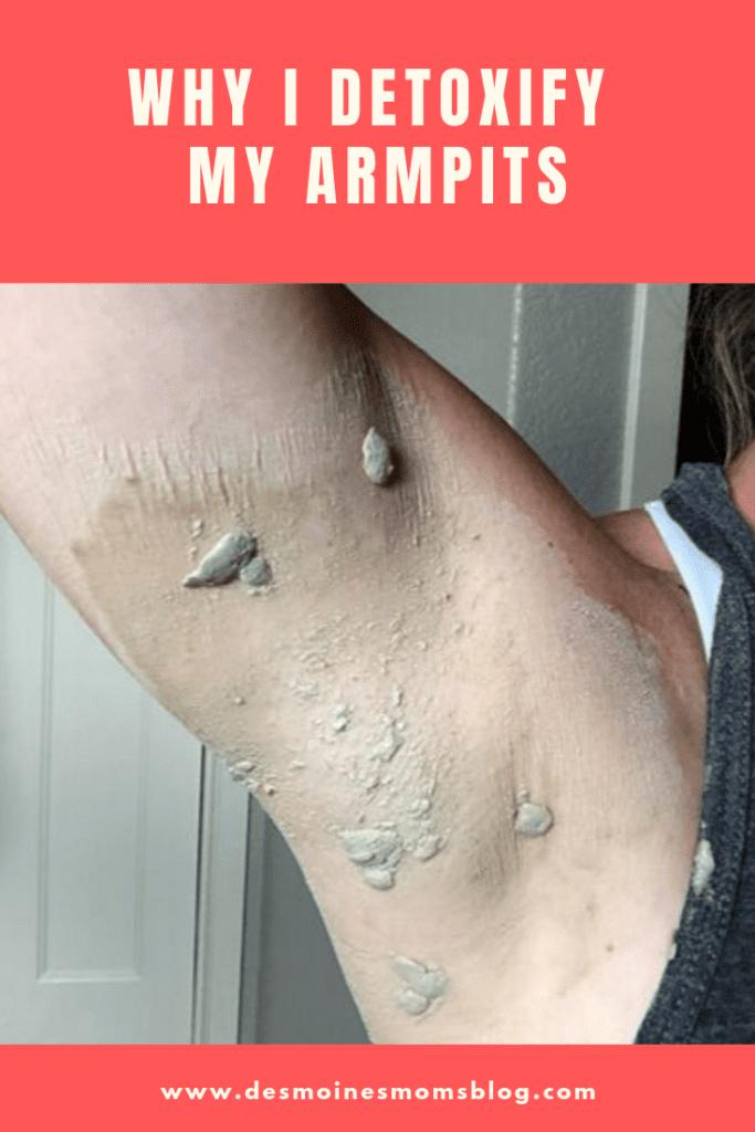 detoxify armpits