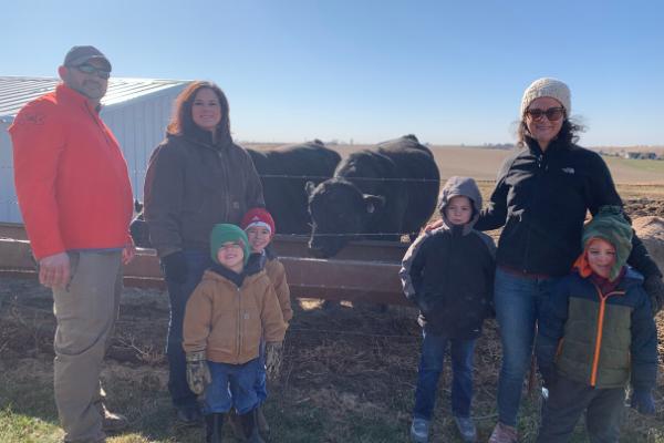 Iowa farm tour
