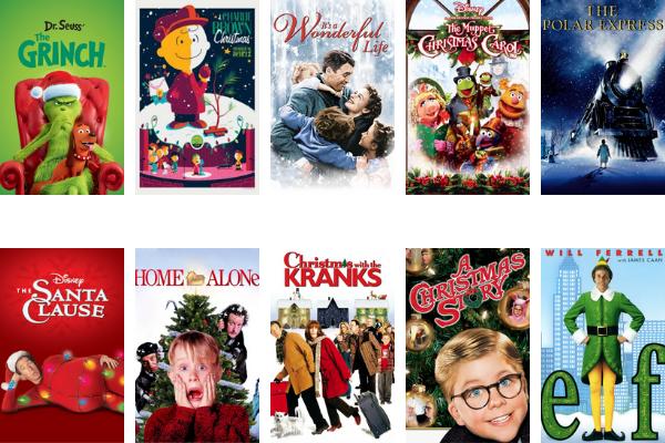 family holiday movies