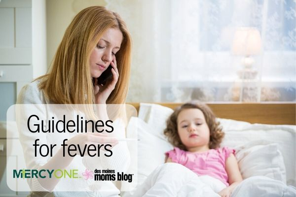 child Fever Guidelines