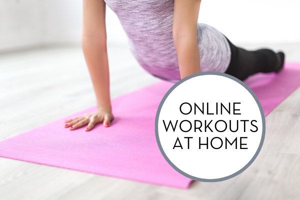 Online Workouts at Home