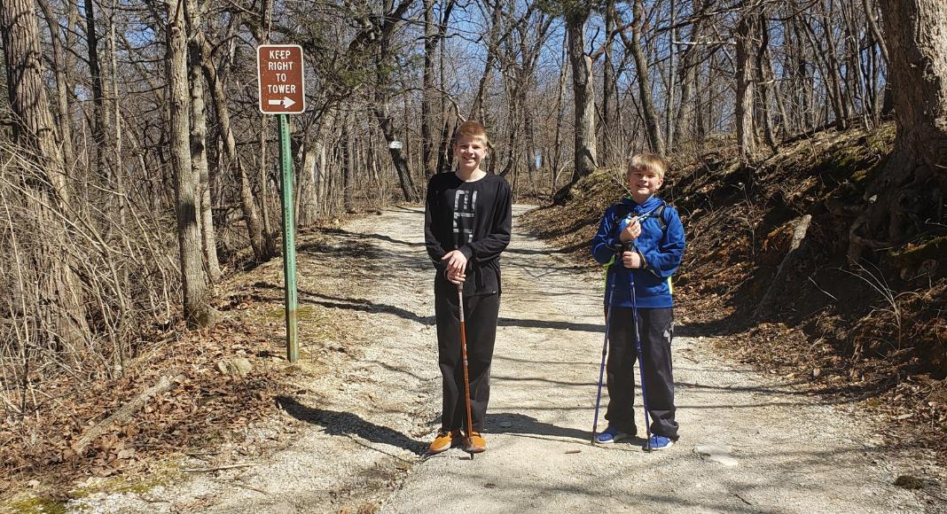Hiking with Kids Des Moines Moms Blog