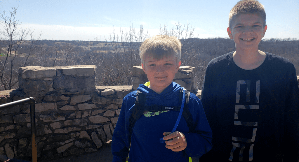 Katie Nyberg Hiking with Kids Des Moines Moms Blog