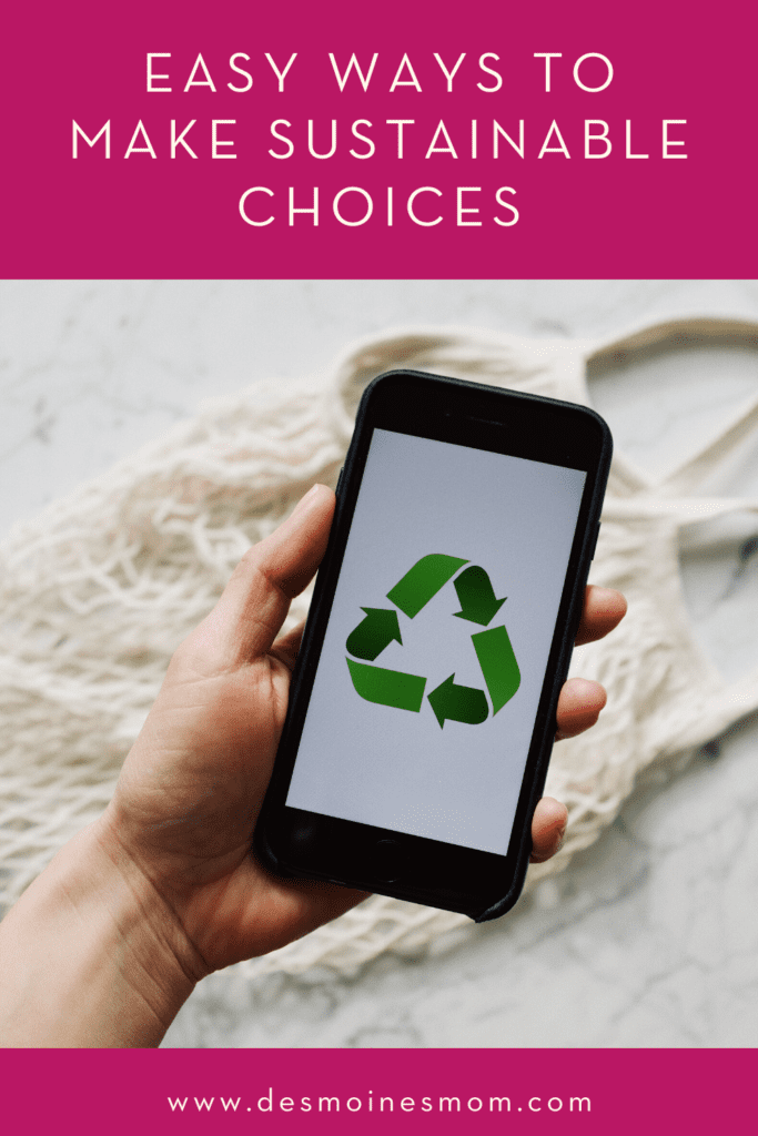 sustainable choices