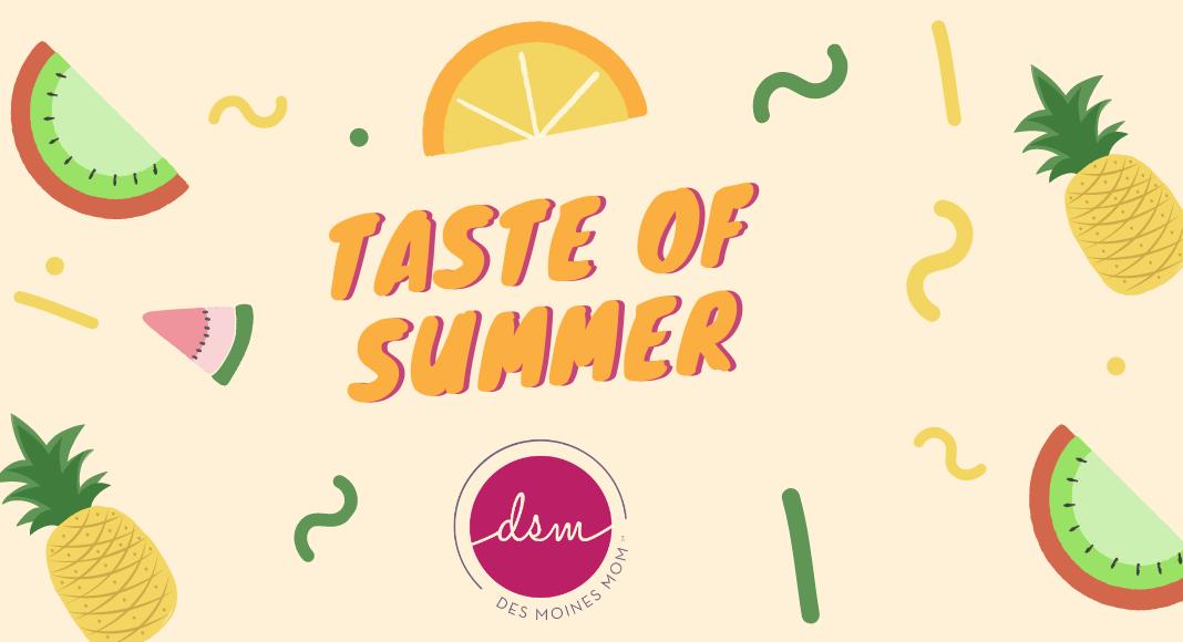 taste of summer
