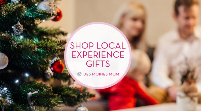 experience gifts des moines