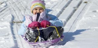 sledding in Des Moines