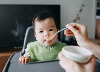 feeding your child