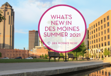 new in Des Moines